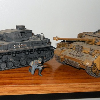 Panzer Mark IV Models Tamiya 1/35th Scale - Military and Wartime