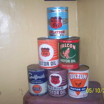 my favorite quart cans - Petroliana