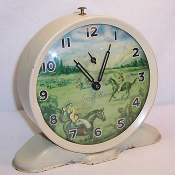"""Ranger"" Animated Alarm Clock"