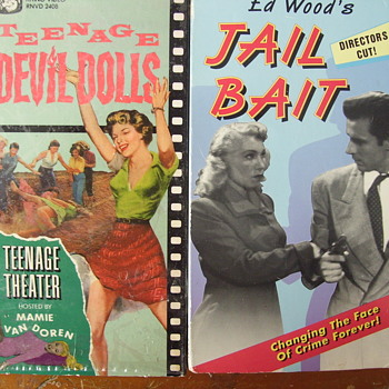 "1950s MOVIES I COLLECT, TEENAGE DEVIL DOLLS"" (SMOKE WEED!) AND ED WOODS, ""JAIL BAIT"""
