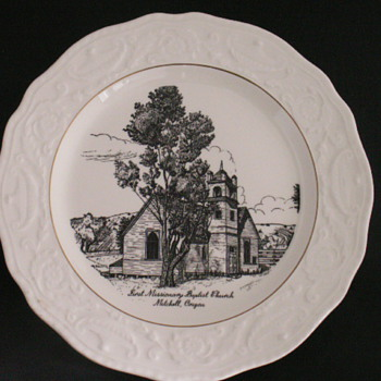 Church Plate, Mitchell, Oregon - China and Dinnerware