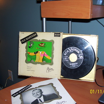 45s bing crosby 