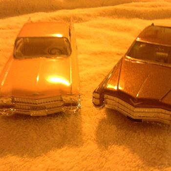 Cadillacs, 1965 and 1960...