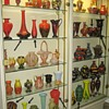 Interesting Passau, Germany Art Deco Czech Displays: 6 Cabinets