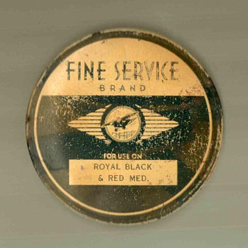 Typewriter Ribbon Tin - Advertising
