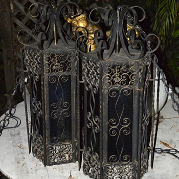 LARGE and very ornate lanterns - Lamps