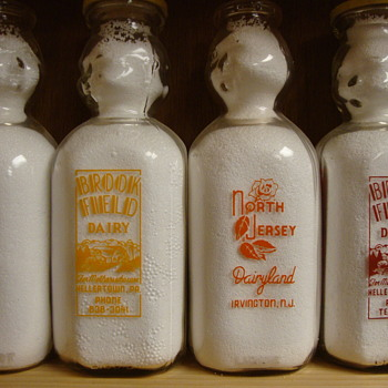 "Square ""Double Baby Top"" Milk Bottles........."