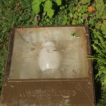 Vintage Westinghouse Industrial Lamp ?  - Lamps