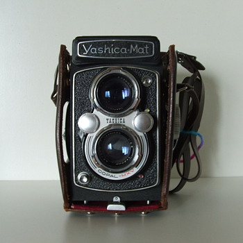 Yashica Mat Camera