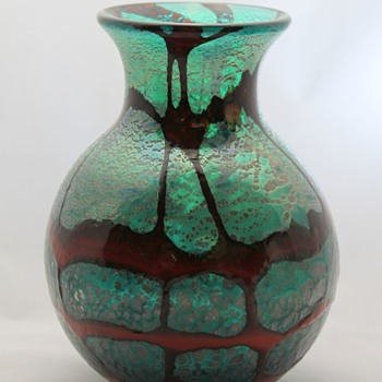 Unknown Japanese glass vase - Art Glass