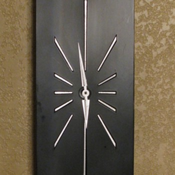 Mid Century Modern Wall Clock