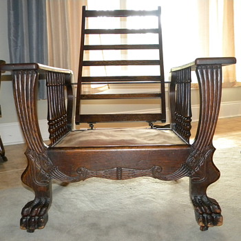 possible morris chair? - Furniture