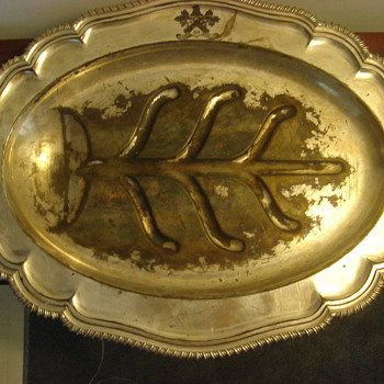 Platter made in sheffield England
