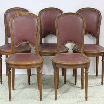 Vintage French Cafe Chairs - Furniture