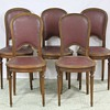 Vintage French Cafe Chairs