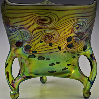 Modern Czech bowl - Art Glass