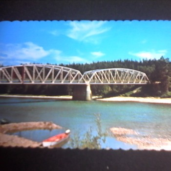 Parsnip River Bridge Postcard