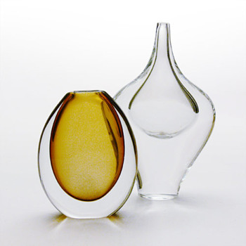 Two Swedish vases, 1950s