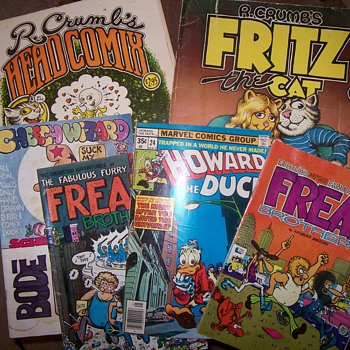 Fabulous Furry Freak Brothers, Fritz the Cat, R. Crumb Comix - Comic Books