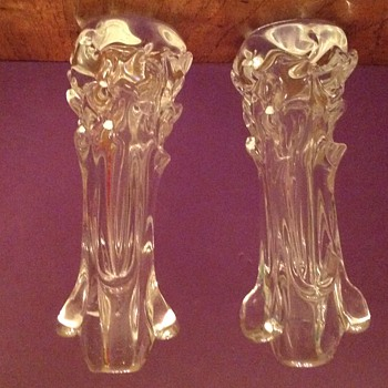 Unusual bud vases or candleholders?