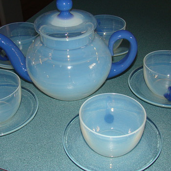 Fry Tea set  - Glassware