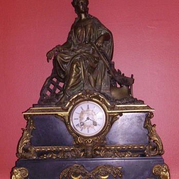 My favorite mantel clock - Clocks