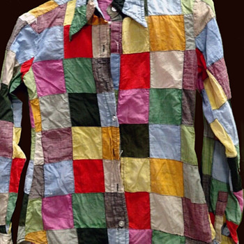 Nottingham NH Hippie Estate - India, patchwork shirt