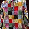 Nottingham NH Hippie Estate - India, patchwork shirt