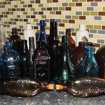 My Bottle collection!