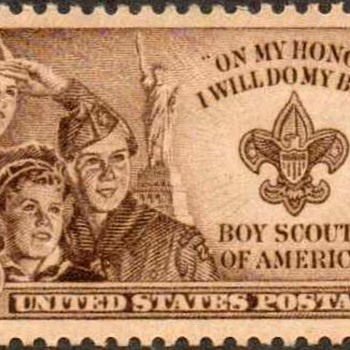 "1950 - ""Boy Scouts"" Postage Stamp (US)"