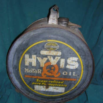 1926 HYVIS ROCKER CAN