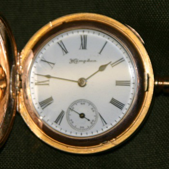 "Hampden, Dueber, ""Molly Stark"", pocket watch"