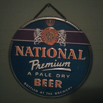 National Premium Baltimore  Maryland  - Breweriana