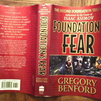 Foundation's Fear (second Foundation trilogy book 2) - Books