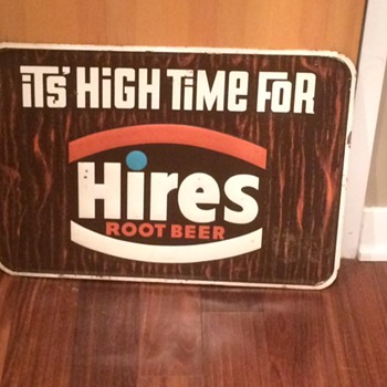 VINTAGE HIRE'S ROOT BEER SIGN, NEILSON'S JERSEY MILK CHOCOLATE SIGN, KAYO CHOCOLATE SODA! AWESOME! - Advertising