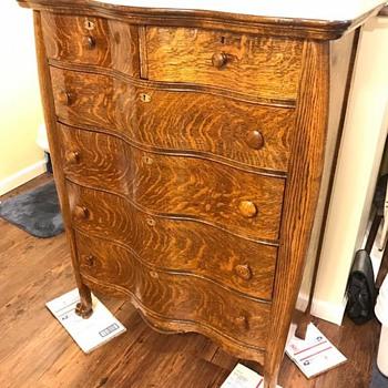 Quarter Sawn Dresser - Furniture