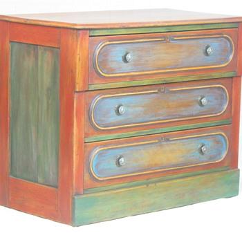 Old dresser - hand mortised drawers