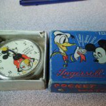 Mickey Mouse Pocket Watch and box - Pocket Watches