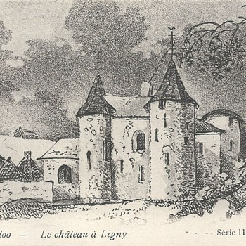 WATERLOO - CHÂTEAU DE LIGNY