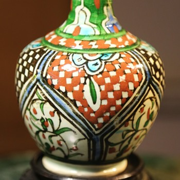 Small Persian Bottle - Art Pottery