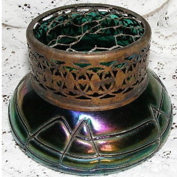 Wilhelm Kralik Posy vase - Art Glass