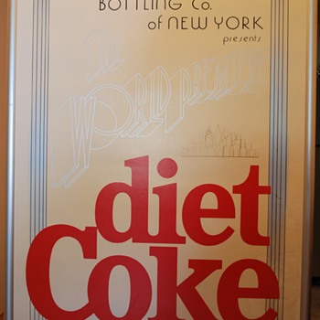 The World Premiere of diet coke 1982 - Posters and Prints