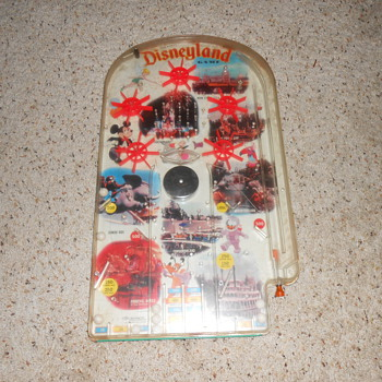 vintage 1960 disneyland table pinball game