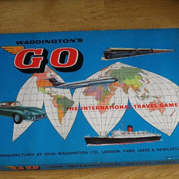 1961 GO by Waddingtons - Great 'Unused' Find - Games