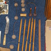 Salesman Sample Croquet Set
