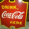wow from 1940 Canadian Coca-Cola flange sign