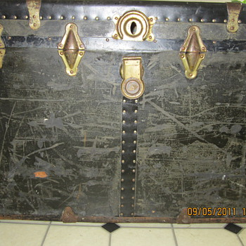 my 1900`s steamer trunk - Furniture