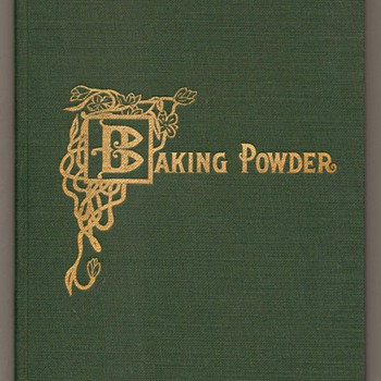 1906 - Baking Powder Book - Books