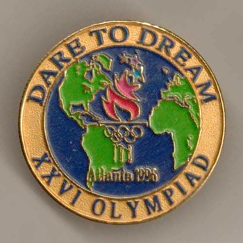 1996 - Atlanta Olympic Games Pin - Outdoor Sports