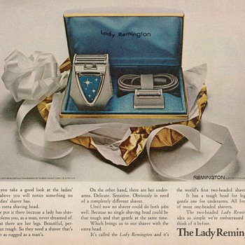 1969 - Lady Remington Shaver Advertisement - Advertising